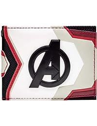 Cartera de Endgame Avengers Traje de Equipo Blanco