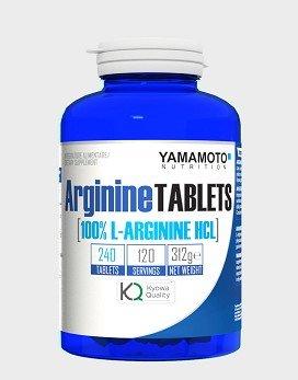 YAMAMOTO NUTRITION Arginine Tablets Kyowa© Quality 240 tavolette