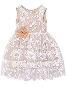 Happy Rose Vestido para niña , diseño de flores, estilo rústico
