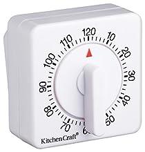 Kitchen Craft - Timer Meccanico da Cucina, da 120 Minuti