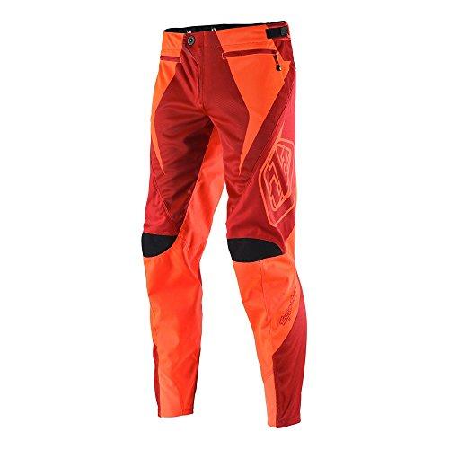 Troy Lee Sprint Pantaloni Reflex, Unisex, Sprint, rot - Reflex Rocket Red/Multi-Colour, 28-Inch