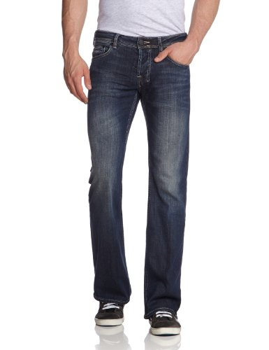 LTB Jeans Herren Jeans Low Rise cut 5044 / Tinman, Gr. 32/30, Blau (2 Years 305) (Fit-bootcut-stretch-jeans)