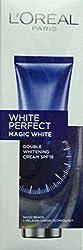 Loreal Paris White Perfect Magic White Double Whitening Spf -19 Cream 50 ml With Free Ayur Sunscreen 50 ml