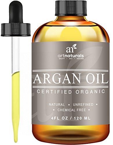 ArtNaturals Organic Argon Oil for Hair, Face and Skin, Grade A Triple Extra Virgin Cold Pressed 4 oz.