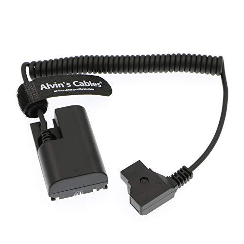 Alvin's Cables Lanparte LP E6 Dummy Akku für D-Tap Spiralkabel für SmallHD 501 502 702 Monitor Canon 5D4 5DSR 5D2 5D3 6D 60D 7D 7D2 70D 80D