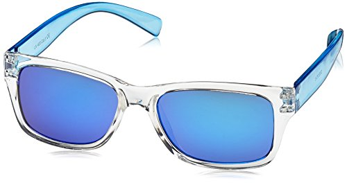 Dice Unisex Kinder Sonnenbrille, Shiny Crystal Blue, One size, D03370-5