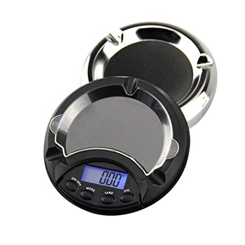 Gewicht Elektronische Waage,Jaminy 500g/0,01 g elektronischer digitaler LCD-Display Maßstab Portable Pocket Jewelry Waage