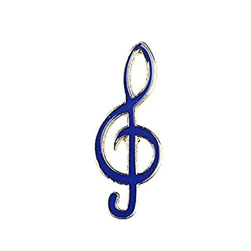 aloiness Cute Cartoon Musik Note Hand Pfeil Verdeckt Schals Schal Clip für Frauen...