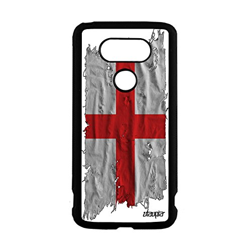 Basketball-telefon (Schutzhülle Silikon LG G5Flagge England englisch Großbritannien Fußball, Basketball schwarz)