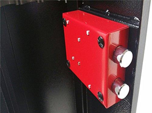 Progen 4Waffenschrank Safe Lock Aufbewahrungsbox für Schrotflinten Gewehr alle Feuerwaffe M1 - 6