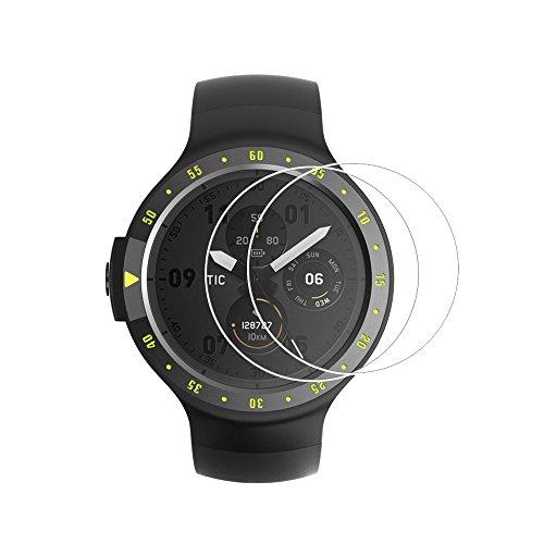 (2PACK) Ticwatch E Screen Protector, copertura completa 9H durezza...