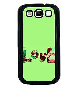 FUSON Love Fabric Text Designer Back Case Cover for Samsung Galaxy S3 Neo I9300I :: Samsung I9300I Galaxy S3 Neo :: Samsung Galaxy S Iii Neo+ I9300I :: Samsung Galaxy S3 Neo Plus
