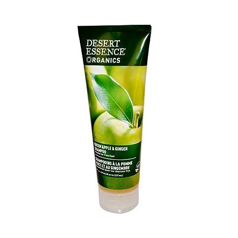 Lot de 2x Desert Essence shampooing Pomme Verte et gingembre–8Fl Oz