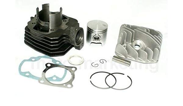 Unbranded 70cc Racing Cilindro Testa Kit Set per Peugeot Vivacity 3 III 50 AC