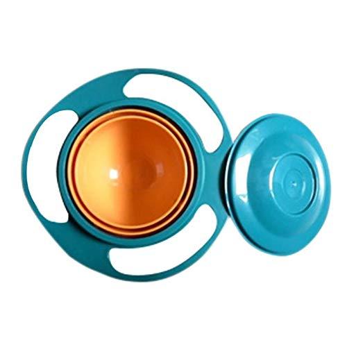 Uniqus Kinder Geschirr Nicht Spill Schüssel Spielzeug Gerichte Universal 360 Drehen Vermeiden Lebensmittel Verschütten Lebensmittel Snacks Baby Dusche -