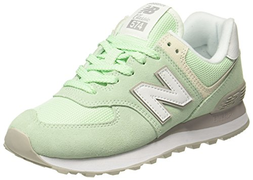 New balance 574v2, sneaker donna, multicolore (lime), 40.5 eu