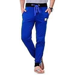 Tsx Men's Trackpant (TSX-PYJAMA-RIB-ROYAL-M_Medium_Blue)