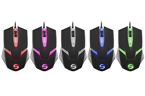 Price comparison product image UtechSmart High Precision Gaming Mouse with 4000 DPI, 6 Programmable Buttons, Omron Micro Switches, 5 stored profiles for PC - AVAGO ADNS-3050 Chipset
