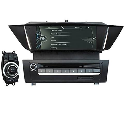 Generic 17,8cm Navigation pour BMW 3manuellement series200620072008200920102011Bmw E902006–2011BMW E912006–2011BMW E922006–2011BMW E93multimédia lecteur DVD de voiture avec GPS Système Can Bus Système BlueTooth iPod RDS Répertoire