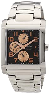 Festina Sport Multifunktion F16234/C - Reloj analógico de cuarzo para hombre, correa de acero inoxidable color plateado (agujas luminiscentes) de Festina