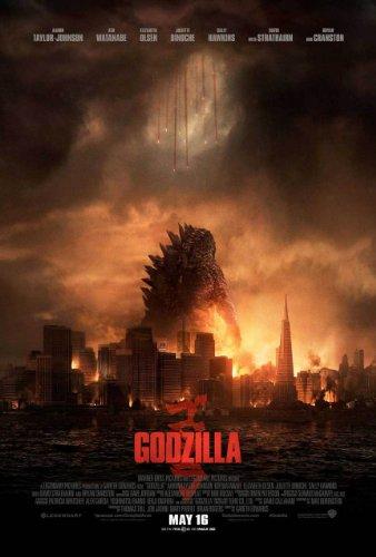 Godzilla (2014) Beidseitige Filmplakat - Regular Style Original-Kinoplakat Poster (69cm x 102cm) (Filme Original Godzilla)