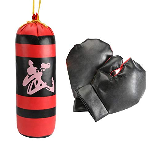 Kinder Kinder Stanzen Boxen Speedball Mit Mini Boxhandschuhen und Sandsäcken Recyclebarer Junge Sandsack Boxhandschuh Set Sport Spielzeug Boxsack
