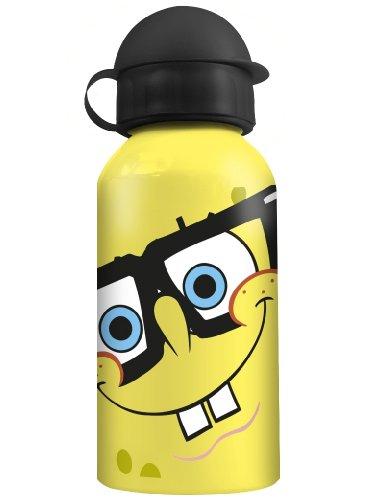 Alu-Trinkflasche \'SpongeBob\' Brille