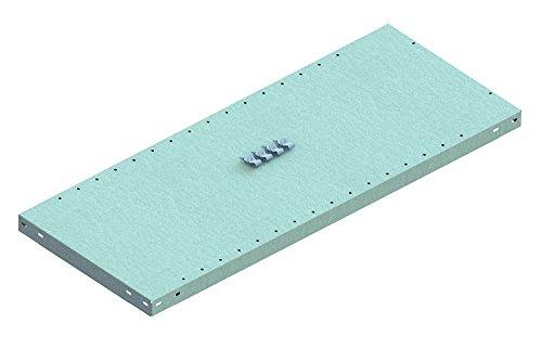 META 1370061 Lagerregal, Clip 150 Zusatzboden mit 4 Fachbodenträger, kpl, 1000 mm x 400 mm,...