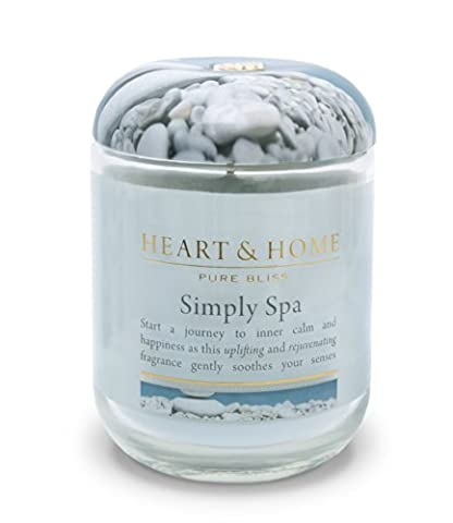 Heart & Home Large Glass Simply Spa