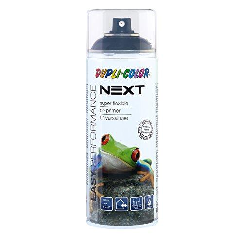 Dupli-Color 480003 NEXT tiefschwarz glänzend 400 ml, Ral 9005