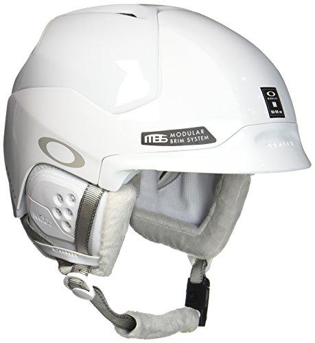 Oakley Mod5 Casque de Ski Femme, Polished White, S