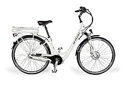 Provelo Damen E-Bike Elektrofahrrad / Fahrrad / Stadtrad, weiß, 7 Gang Nabenschaltung, Reifengröße: 71,1 cm (28 Zoll)