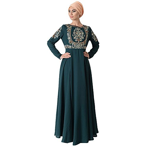 Top Embroidered Eid Abaya Dress + Hiab