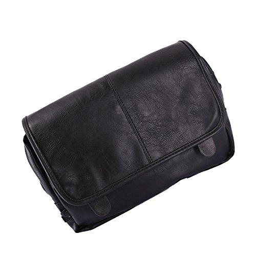 Yy.f Neuen Querschnitt Mannbeutel Schulterbeutel Freizeitbeutel Mannkuriertasche Feste Tasche Praktisch 3-Farben-Paket Black