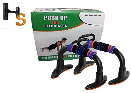 Harsheen Sales Push Up Bars 1 Pair Foam Handle Antiskid Home Gym with Strong Suction for Sit Up