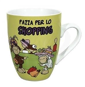 NICI n29324-Taza pazza: pazza per lo Shopping