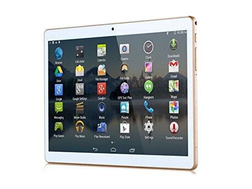 ebc70e74be696 ibowin® M960 9.6 Pulgadas Android 4.4 Teléfono Celular de desbloqueo SIM  dual 3G WCDMA GSM 2G Tablet GPS 1G RAM 16G ROM Bluetooth WIFI (Blanco) ...