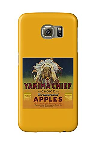Yakima Chief Apple Label (Galaxy S6 Cell Phone Case, Slim Barely There)