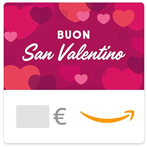 Buono Regalo Amazon.it - Digitale - Buon San Valentino - Cuori rosa