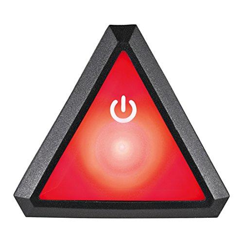 Uvex Plug-in LED XB043 Quatro pro Fahrradhelm, red/Black, One Size