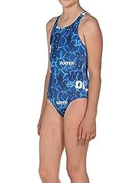 855b69114b46 Arena Costume Intero da Ragazza Sport Evolution, Bambina, 001301, pix  Blue-Leaf