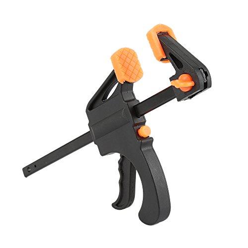 Spreizer Gadget Werkzeug 4 Zoll Holz Arbeitsarbeit Bar Clamp Quick Ratchet Release Geschwindigkeit Squeeze Clip DIY Hand F Form Werkzeug