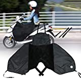 MCLseller Motorcycle Leg Cover,Universal Scooter Windproof Leg Cover with Reflective Strip,Waterproof Winter Warm