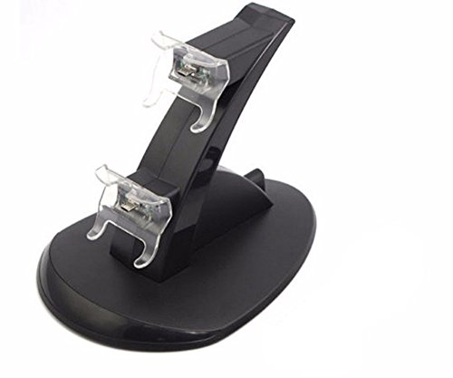 GADGETS WRAP LED Dual Mirco USB Charger Dock Station for XBox One/S Controller.