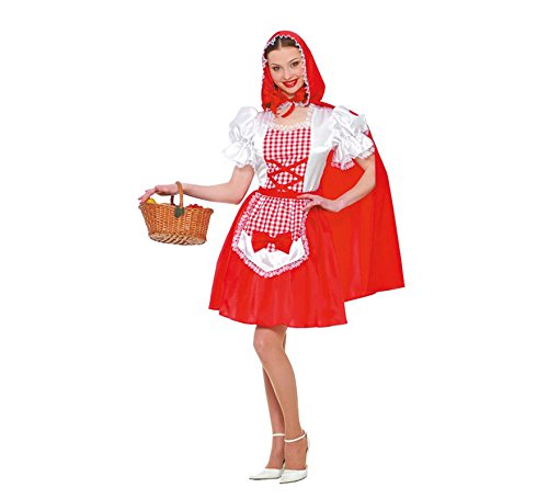 Red Hood Joker Kostüm - Adult Womens Red Riding Hood Costume
