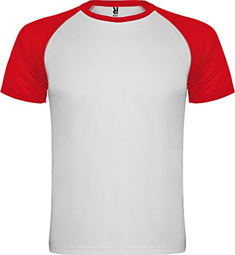 Camiseta 6650 Indianapolis Hombre - Blanco/Rojo 0160 - L
