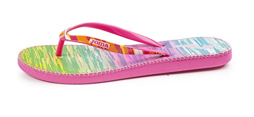 JOMA S.GOAS Shoe Spring Summer Sandales Tongs Femme Fuchsia