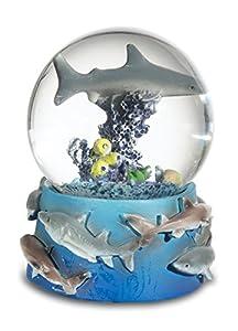 Katerina Prestige Figura Bola Nieve tiburón Tigre, me0725