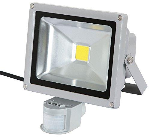 Kerbl 34570 LED-Außenstrahler 20 W mit Bewegungsmelder