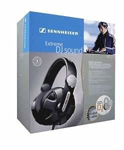 Sennheiser HD 215 Extreme DJ Sound Headphones with Swivel Earcup